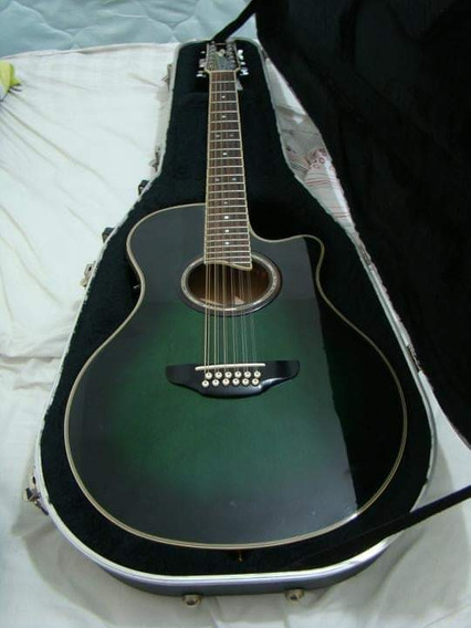 Guitarra Electroacustica Yamaha 12 Cuerdas