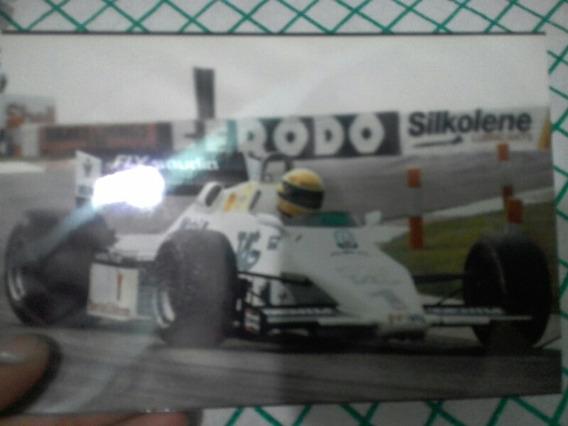 Fotografia 10cm X 15cm Ayrton Senna