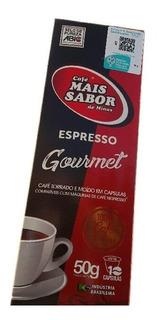 Kit De 50 Cápsulas Para Café Nespresso Do Café Mais Sabor
