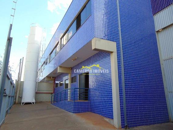 Galpão Para Alugar, 890 M² Por R$ 6.900/mês - Parque Industrial Bandeirantes - Santa Bárbara D