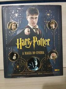 Livro Harry Potter A Magia Do Cinema.