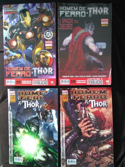 Homem De Ferro E Thor, Vários Números.