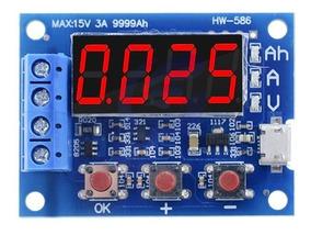 Testador Medidor Capacidade Real Bateria Mah 18650 Outras