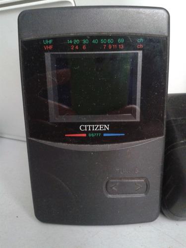 Mini Tv Citizen Ds777 - Iz  (colecionável) - Funcionando