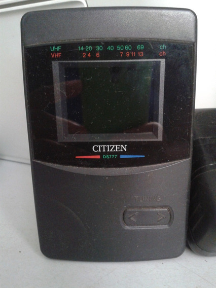 Mini Tv Citizen Ds777 - Iz (colecionável) - Funcionando
