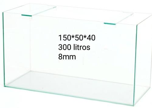 Pecera 150*50*40 300 L 8mm Ver Envios Gratis En Descripcion