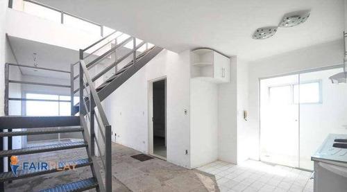 Apartamento Na Cobertura No Morumbi 2 Dorms 2 Vagas 100m - Ap3397