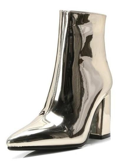 Ankle Boot Feminina Holy Jasmine 18066 Importado
