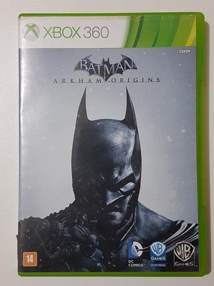 Batman Origins Original Com Defeito Para Xbox 360