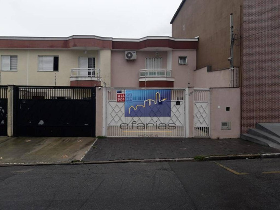 Sobrado Com 2 Dormitórios Para Alugar, 100 M² Por R$ 2.000/mês - Vila Matilde - São Paulo/sp - So0978