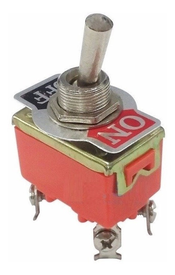 Botão Interruptor Liga Desliga Tic Tac 2 Posições 15a