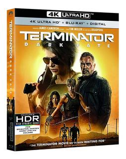 Blu Ray 4k Ultra Hd Terminator Dark Fate Estreno Original