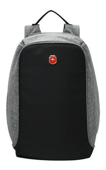 Swissland Mochila Anti Furto Notebook Laptop Usb Ys28056
