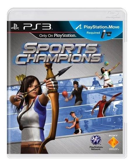 Jogo Ps3 Sports Champions Original Usado Mídia Física