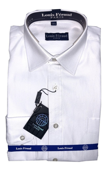 Camisas Blancas Louis Feraud Manga Larga De Vestir 102403