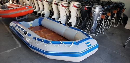 Bote Desarmable Gomon Albatros 430 M Nuevo Nautica Milione 5