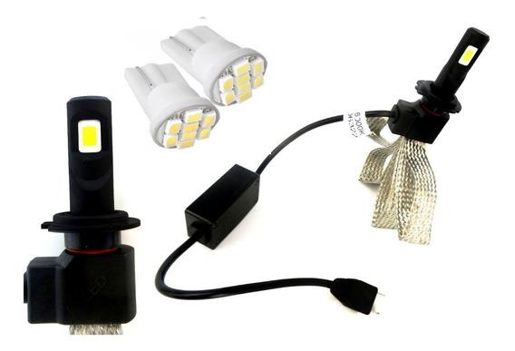 Lampada Led Super Branca 6500k H4 Hornet + Pingos Led
