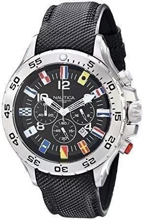 Relógio Náutica Chronograph N16553g Usado Mas Novissimo