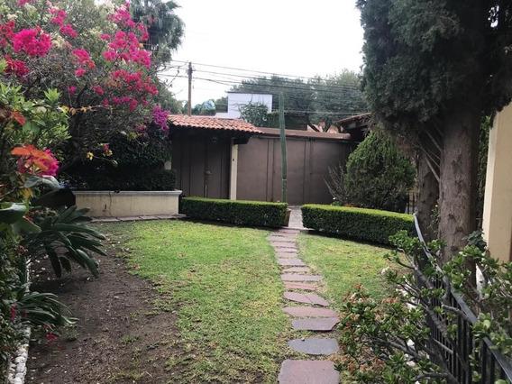 Casa Amueblada En Renta Colinas Del Bosque Rcr190404-fm