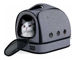 Transportador Suave Para Gatos Con Cómodo Forro