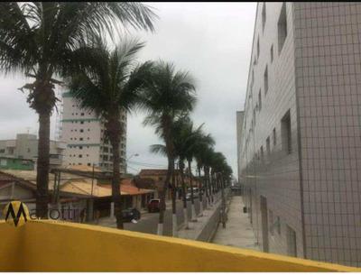Apartamento 1 Dormitório Na Vila Mirim Praia Grande-sp 120 Mil - V555