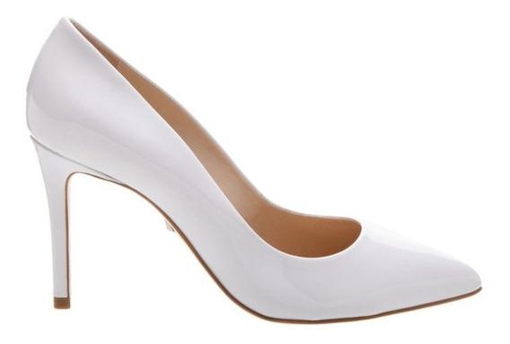 Scarpin Sapato Fechado Branco