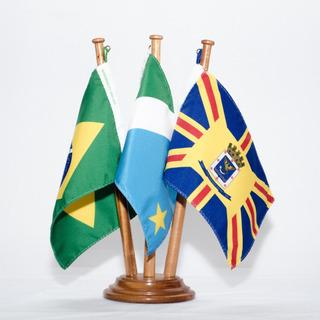Bandeira De Mesa Brasil Mato Grosso Do Sul Campo Grande