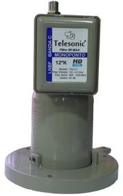 Kit 10 Monoponto Telesonic - 3,6 ~4,2 Ghz -para Midiabox