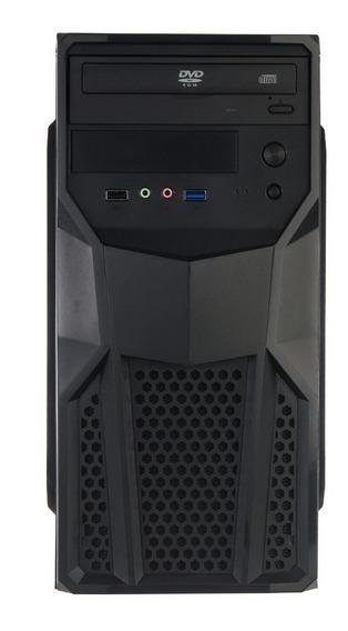 Cpu Nova Intel Pronta P/ Uso C2d 3.0 4gb Hd 500gb Leitor Dvd