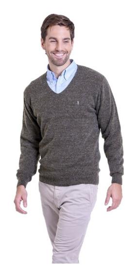 Sweater Escote V Tipo Bremer Mauro Sergio Hombre