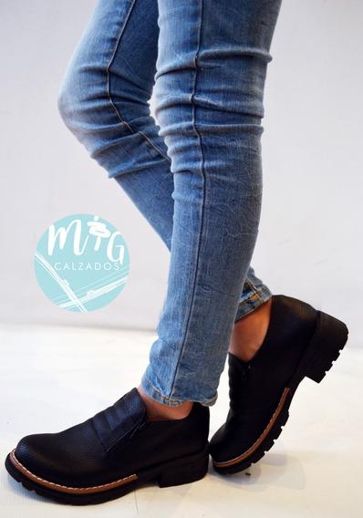 Zapatos Doble Cierre Ideal Todo Andar Invierno 2019 Art 238