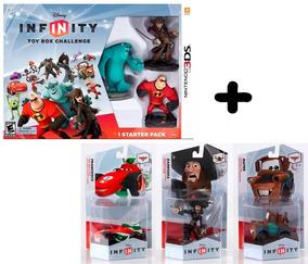 Disney Infinity Toy Box Challenge Nintendo 3ds Lacrado Em Pt