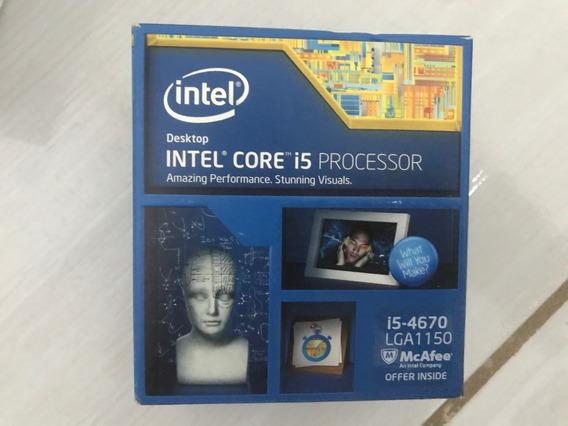 Processador Intel Core I5 4670 Socket 1150