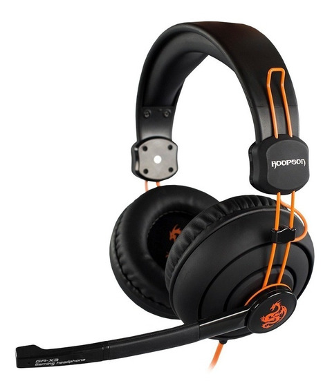 Headset Pro Game Stereo Hoopson Ga-x3