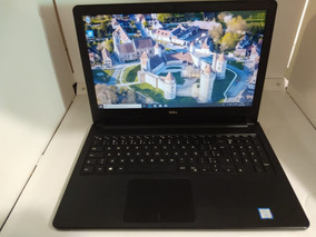 Notebook Dell 5566 Intel Core I5-7200u 4gb Ssd 240 Gb