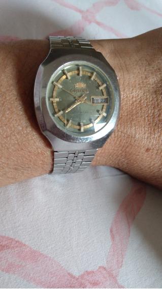 Relógio Orient Automático Antigo 2 Chaves 05/20 #222