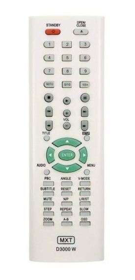 Controle Remoto Para Dvd Britania D3000w