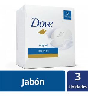 Dove Original Caja 90 Gr X 3 Unidades