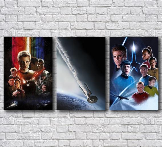 Placas Decorativas Star Trek Decoração Para Casa Mdf