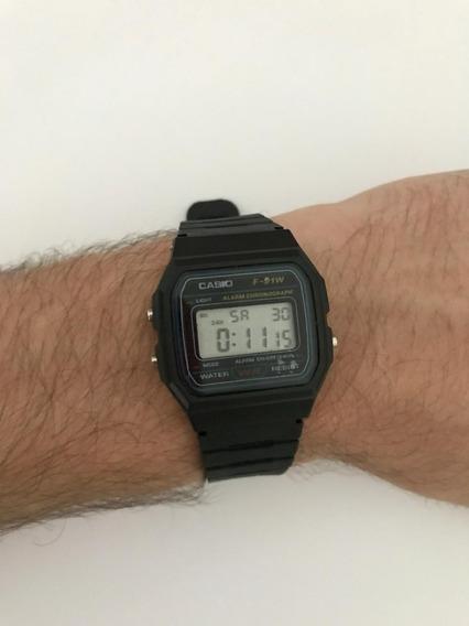 Relógio Casio F-91w Promoção Imperdível