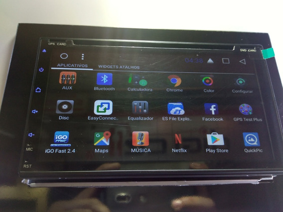 Central Multimidea Univiersal Android 7.1 Dvd Tv Gps+cam Ré