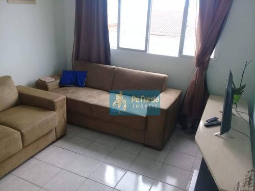 Imagem 1 de 9 de Apartamento Com 1 Dormitório À Venda, 42 M² Por R$ 150.000 - R1s86a - Solemar - Praia Grande/sp - Ap0397