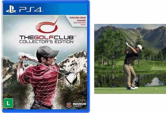 Jogo The Golf Club Collectors Edition Para Ps4