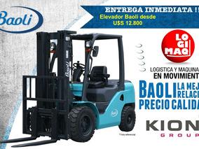 Autoelevador Baoli Desde 12,800+iva -entrega Inmediata