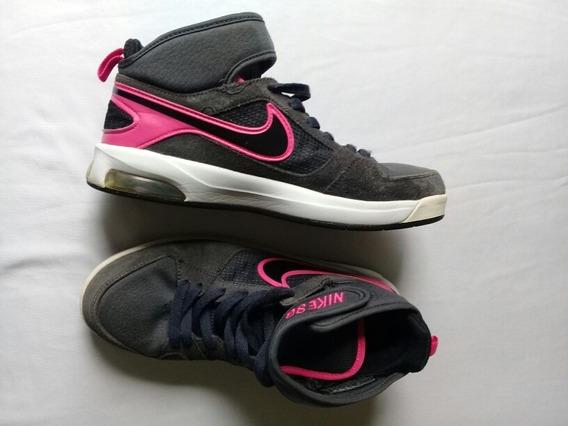 Tênis Nike Air Max/unissex/ Skate/treino/ Botinha/stily/ 38