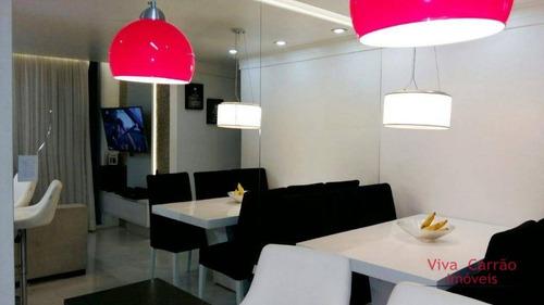 Lindo Apartamento, Localização Privilegiada! - Ap0767