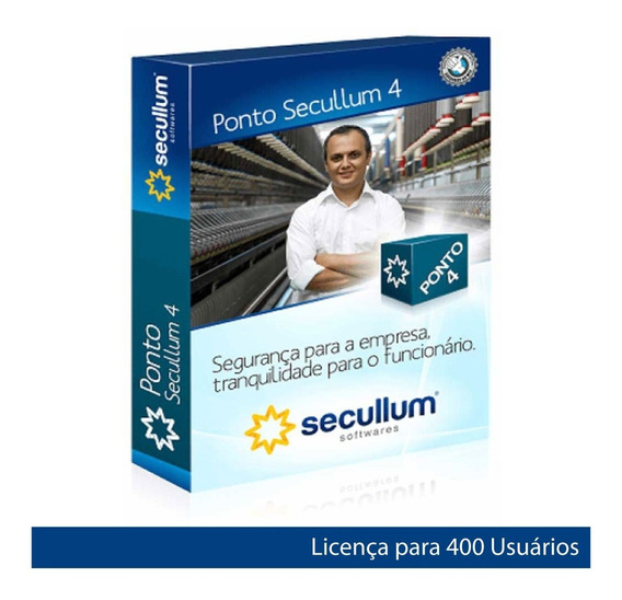Ponto Secullum 4 Anual S/ Suporte 1und 1cnpj 400 Funci - Go