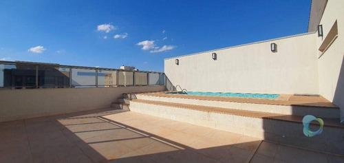 Cobertura Com 5 Suites À Venda Por R$ 4.100.000 - Residencial Morro Do Ipê - Ribeirão Preto/sp - Co0073