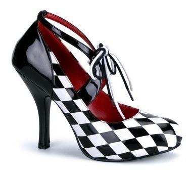 Zapatos De Harley Quinn Arlequin Para Damas Envio Gratis 1