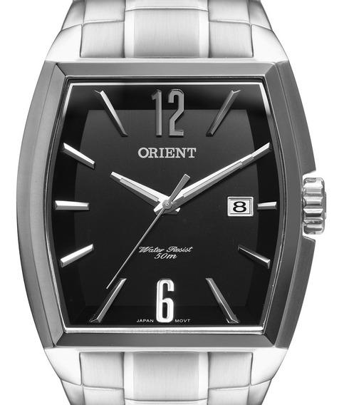 Relógio Orient Masculino Prateado Gbss1050 P2sx Original